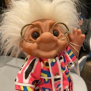 "Vintage ""Granny"" Norton Troll doll"